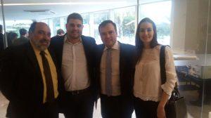 Membros do Procon Aracaju dialogam com o secretário nacional do consumidor, Artur Rollo.