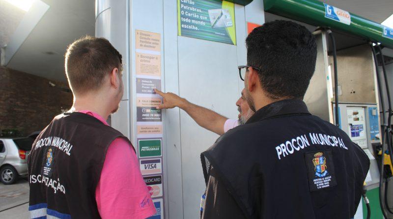 Procon Aracaju divulga mais uma pesquisa comparativa de preço dos combustíveis