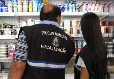 Fiscalização em supermercados é finalizada com dois estabelecimentos autuados