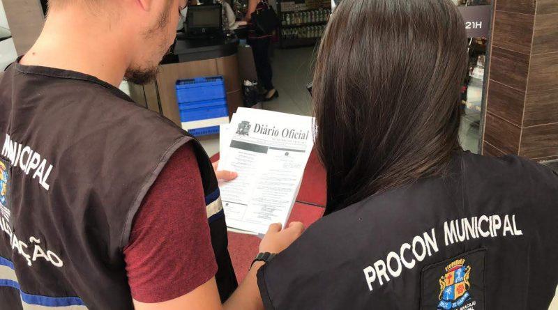 08-01 - Fiscalização Procon - Foto Morgana Sanatna - 1